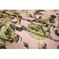 Искусственный шелк розы бежевые UAE-E2 11121701