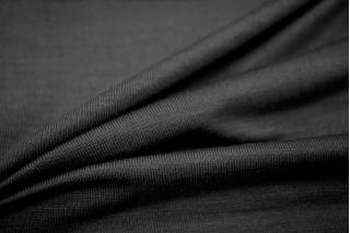 ОТРЕЗ 2,75 М Трикотаж вискозный черный UAE-F4 11121712-2