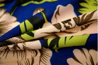 Шифон-стрейч цветы UAE H-2 11121716