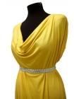 Трикотаж вискозный желтый UAE-A4 11121718