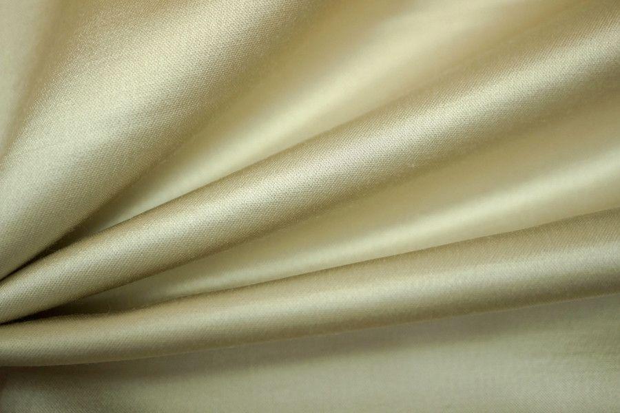 Атлас хлопковый белое золото PRT-B5 2031706