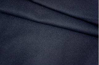 Пальтовая шерсть  темно-синяя PRT 9071711