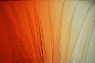 Шифон деграде яркий оранжевый UAE-E5 15011810