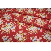 Шифон-стрейч цветы UAE-Е2 15011803