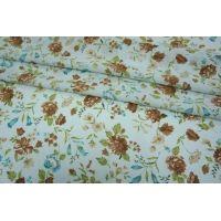Шифон-стрейч цветы UAE-E2 15011808