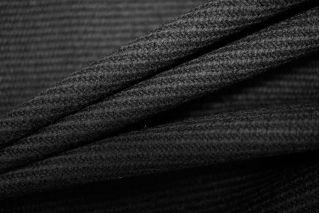 Плотная костюмная шерсть черная PRT-F7 14081707