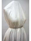 Вельвет рубашечный белый PRT1-D3 1031773