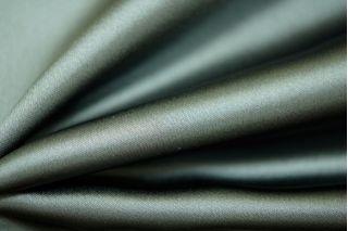 Блузочный вискозный атлас темно-зеленый PRT 1031789