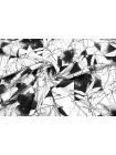 Джинс стрейч серые цветы PRT 2031750