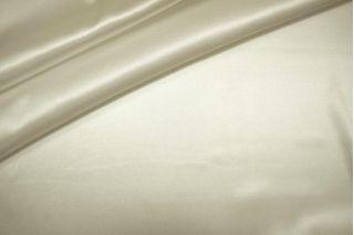 Шелковый атлас-стрейч молочный PRT 2031786