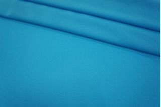 Шифон креповый голубой UAE1-F6 17011810