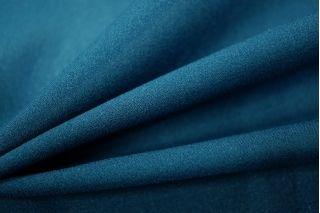 Шифон креповый темно-синяя бирюза UAE-F6 17011811