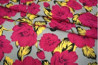 Шифон-стрейч цветы UAE-E2 17011812