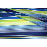 Шифон полоска синяя UAE-H3 17011817