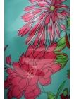 Шифон-стрейч цветы UAE-E2 17011802