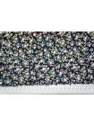 Хлопок поплин мелкие цветы на синем BLP-B6 19041727