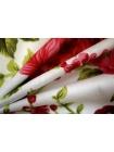 Хлопок поплин розы на белом BLP 19041706