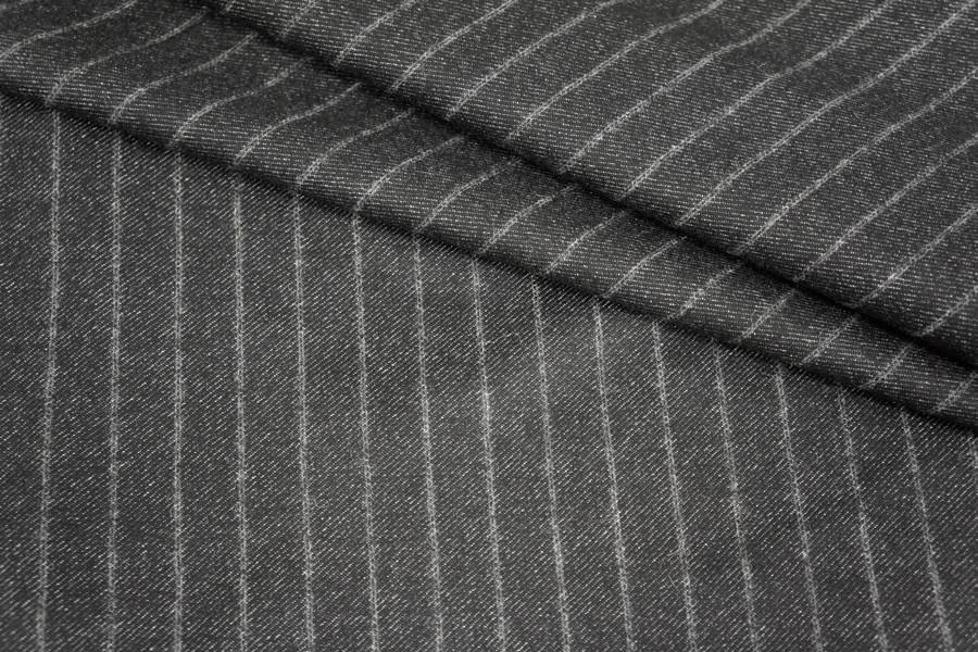 Костюмная шерсть в полоску PRT1-M5 18091713