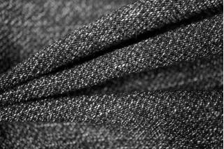 Шерстяной креп черно-белый PRT1-M6 9071748