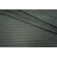 Костюмная шерсть серая в полоску PRT-L4 19101724