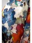 Плательно-блузочный сатин-стрейч акварель UAE-E6 18121712