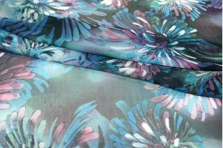 Шифон цветы UAE-E6 18121718