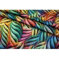 Сатин-стрейч плательный рептилия UAE-E6 18121728