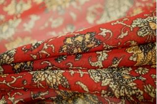Шифон темно-красный UAE-F4 18121703