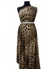 Креп-шифон стрейч леопард UAE2-E5 18121731
