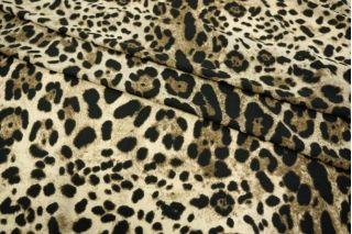 Креп-шифон стрейч леопард UAE-H5 18121732