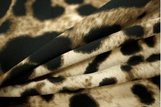 Креп-шифон стрейч леопард UAE-E2 18121732