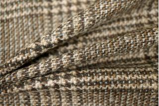 Костюмная шерсть-стрейч в клетку PRT1-R4  2101702