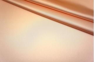Блузочный вискозный атлас персиковый PRT-E4 2031709