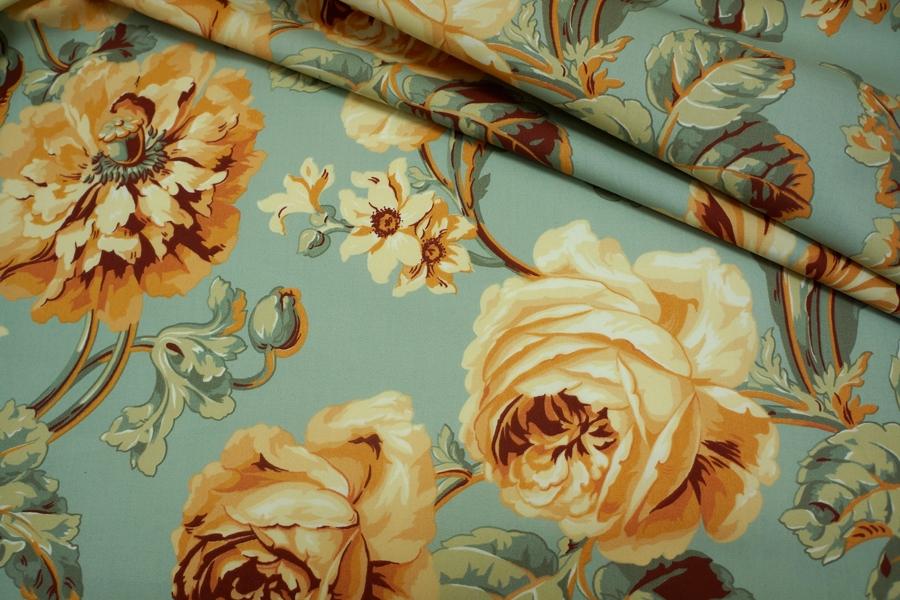 Хлопок плательный цветочный PRT-E5 1031732