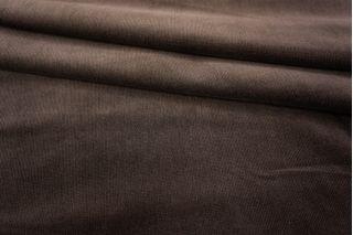 Вельвет-стрейч хлопковый коричневый PRT1-D3 03041802