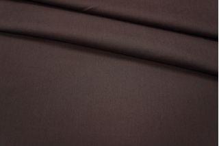 Хлопок-стрейч темный баклажан PRT-H4 03051806