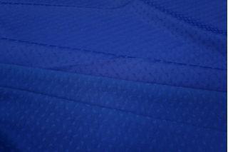 ОТРЕЗ 2,65 М Жаккард атласный синий PRT-F3 03051810-1