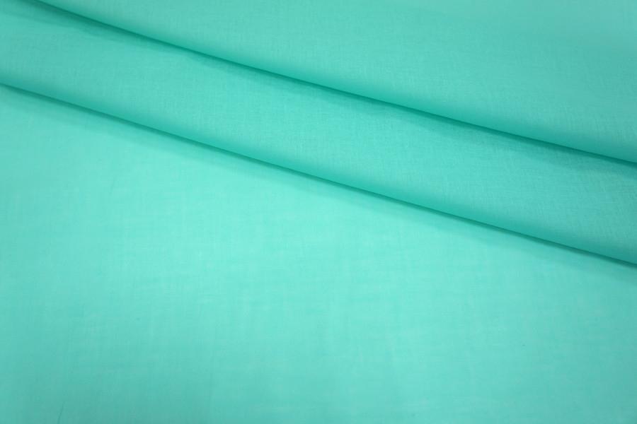 Батист хлопковый голубая бирюза UAE-A3 5021812