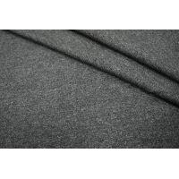 Твид шерстяной черно-серый PRT-L6 12021702