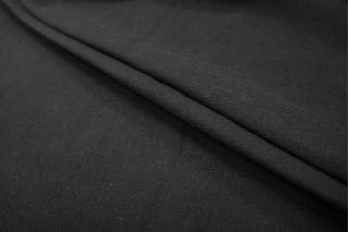 Хлопок костюмный черный PRT-N5 04071805