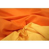 Хлопок костюмный двусторонний желтый-рыжий PRT-P2 04071810