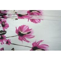 Батист хлопок с шелком цветы PRT-I5 07031810
