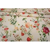 Хлопок-стрейч цветы PRT1-B4 27021804