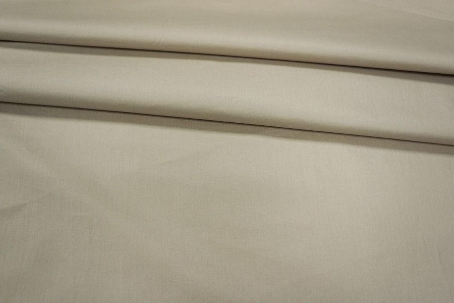 Плащевка хлопковая светлая серо-бежевая PRT-A2 04041817