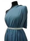 Вискоза плательная серо-голубая PRT-B5 04041828