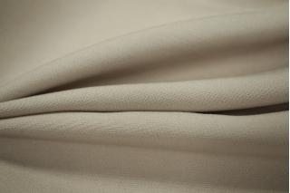 Вискоза костюмно-плательная двухслойная серо-бежевая PRT-C4 08051814