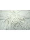 Крепдешин шелковый белый PRT1-D3 08031805