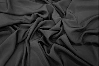 Крепдешин шелковый черный PRT1-I4 08031806