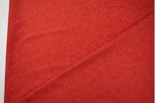 Жаккард хлопковый красный LT1-J3 1121506