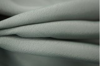 Крепдешин шелковый серый PRT1-D3 12031803